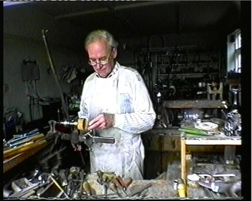 Four Generations of Watchcase Making - Martin in his Workshop