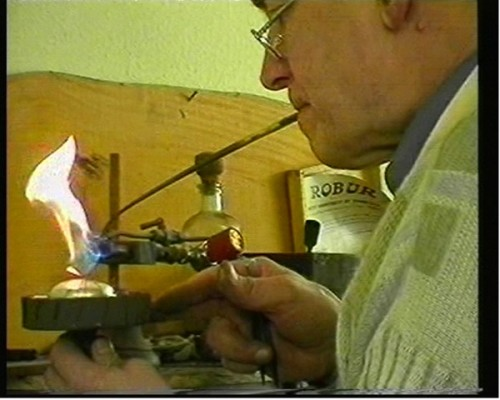 Four Generations of Watchcase Making -using the mouth torch