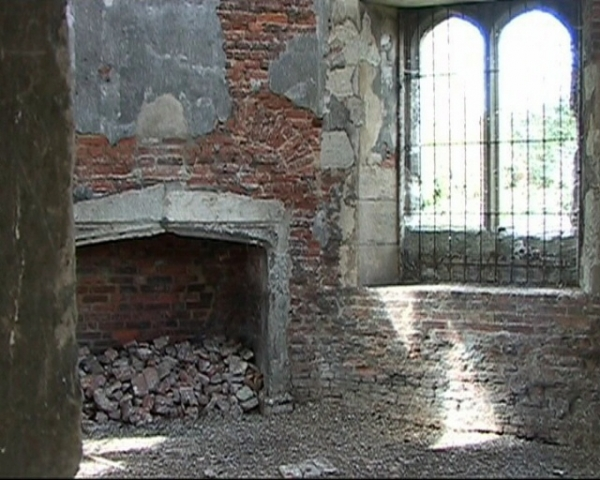 Vanished Palace of Otford - inside the old tower