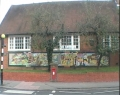 Village Mosaic - the completed work of art