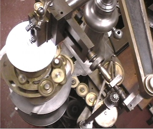 Engine Turning - William Hartley invented this Geometric Chuck