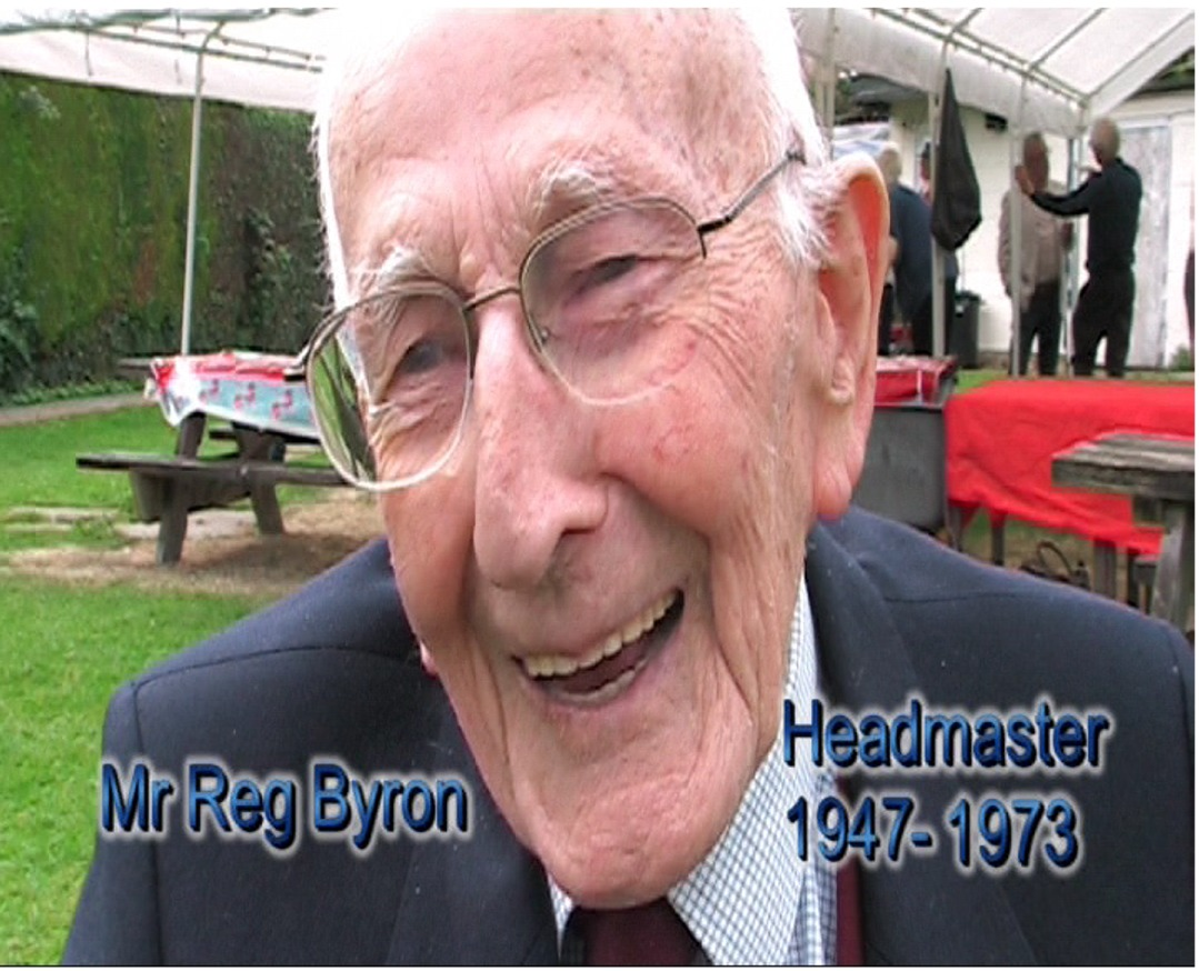 Otford Primary School 9th Reunion 2014 - Mr Byron, now 102 years old