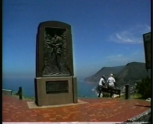 Otford Down Under - Lawrence Hargrave memorial in New South Wales, Australia
