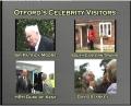 Otford's Celebrity Visitors - Sir Patrick Moore, Duke of Kent, SE Trains and David Starkey