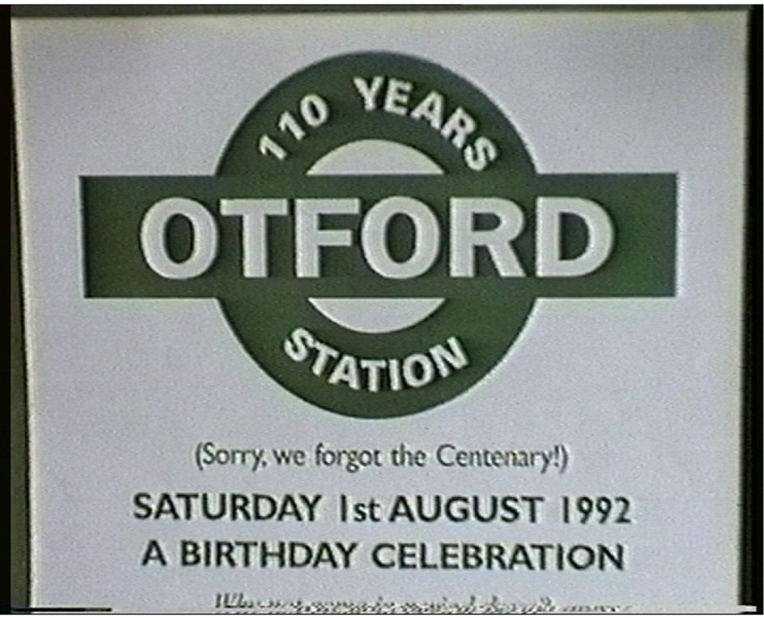 Otford Station 110 Years Celebration