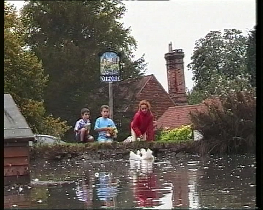 A village in Kent with a pond - this year we entered the 'Village of the Year' competition