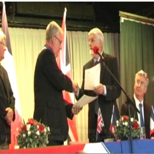 Otford Caught on Camera 2012 - signing of the Twinning Charter between Otford and Neufchâtel-Hardelot