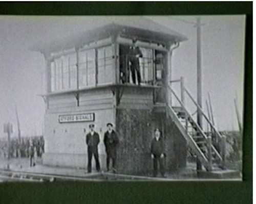 Otford Station 110 Years Celebration - Signal Box was closed in February 1970