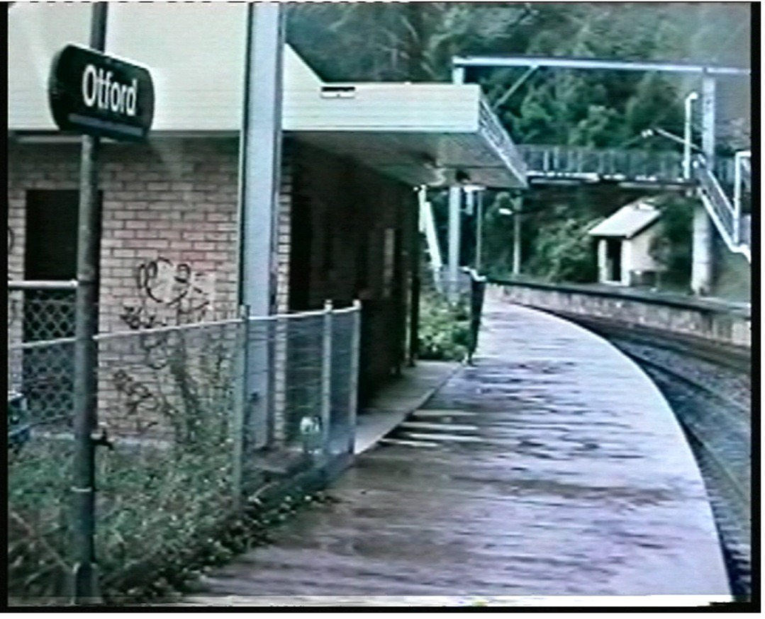 Otford Down Under - the railway station Otford, Australia